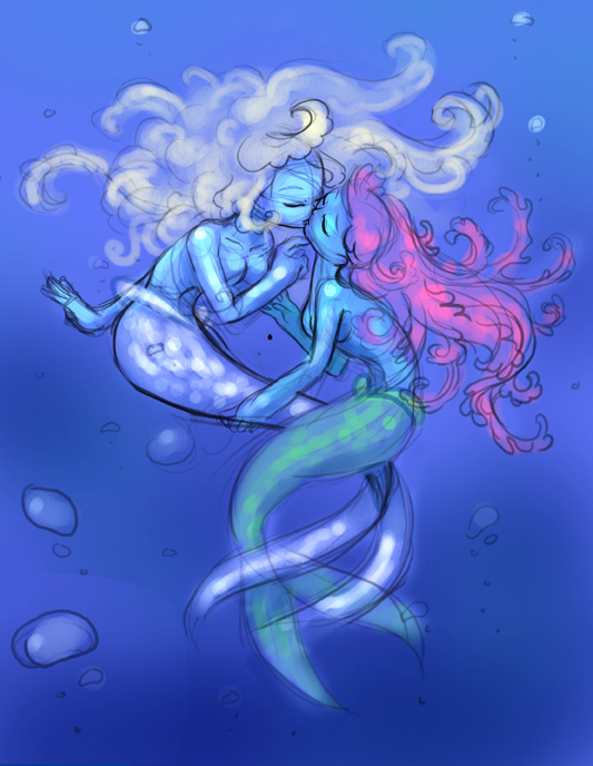 Speaking of mermaids I